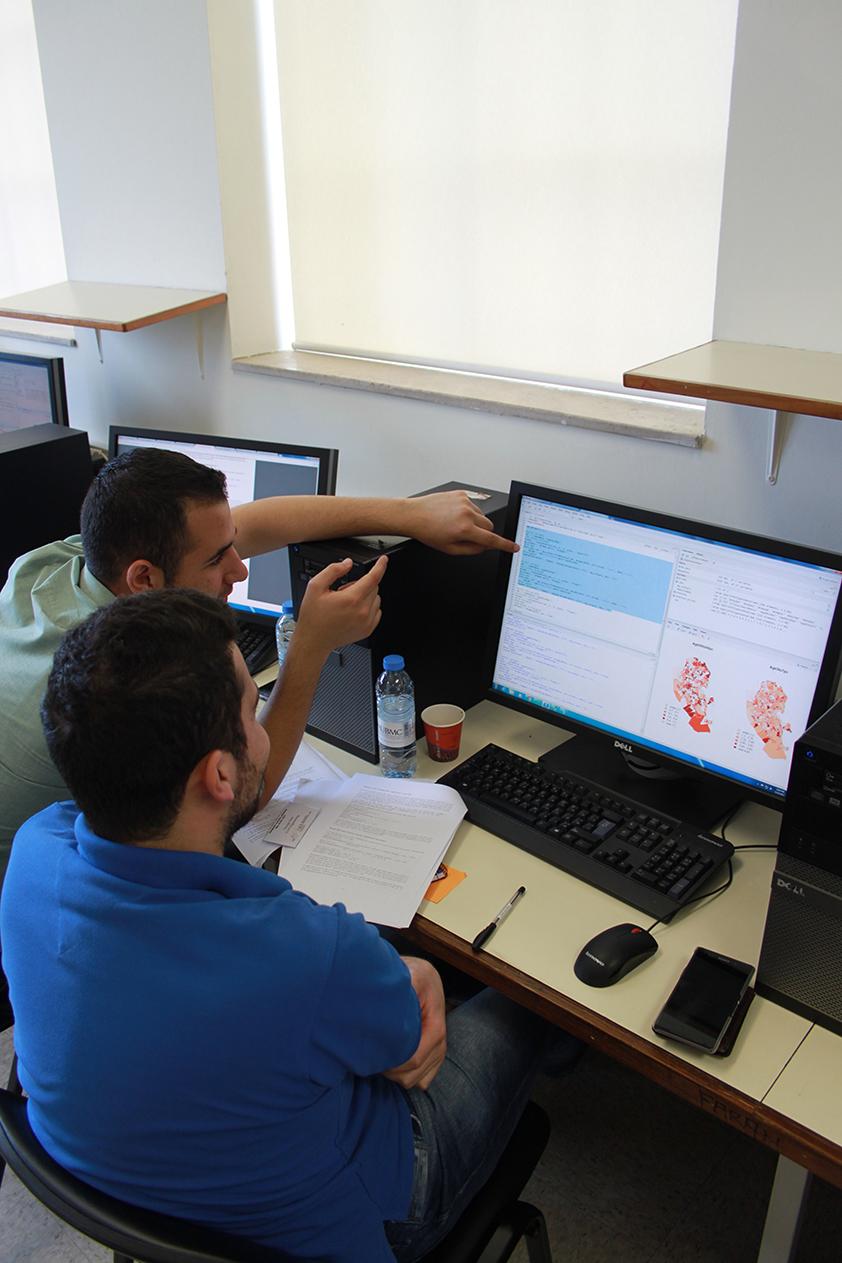 Participants at the Confident Spatial Analysis workshop
