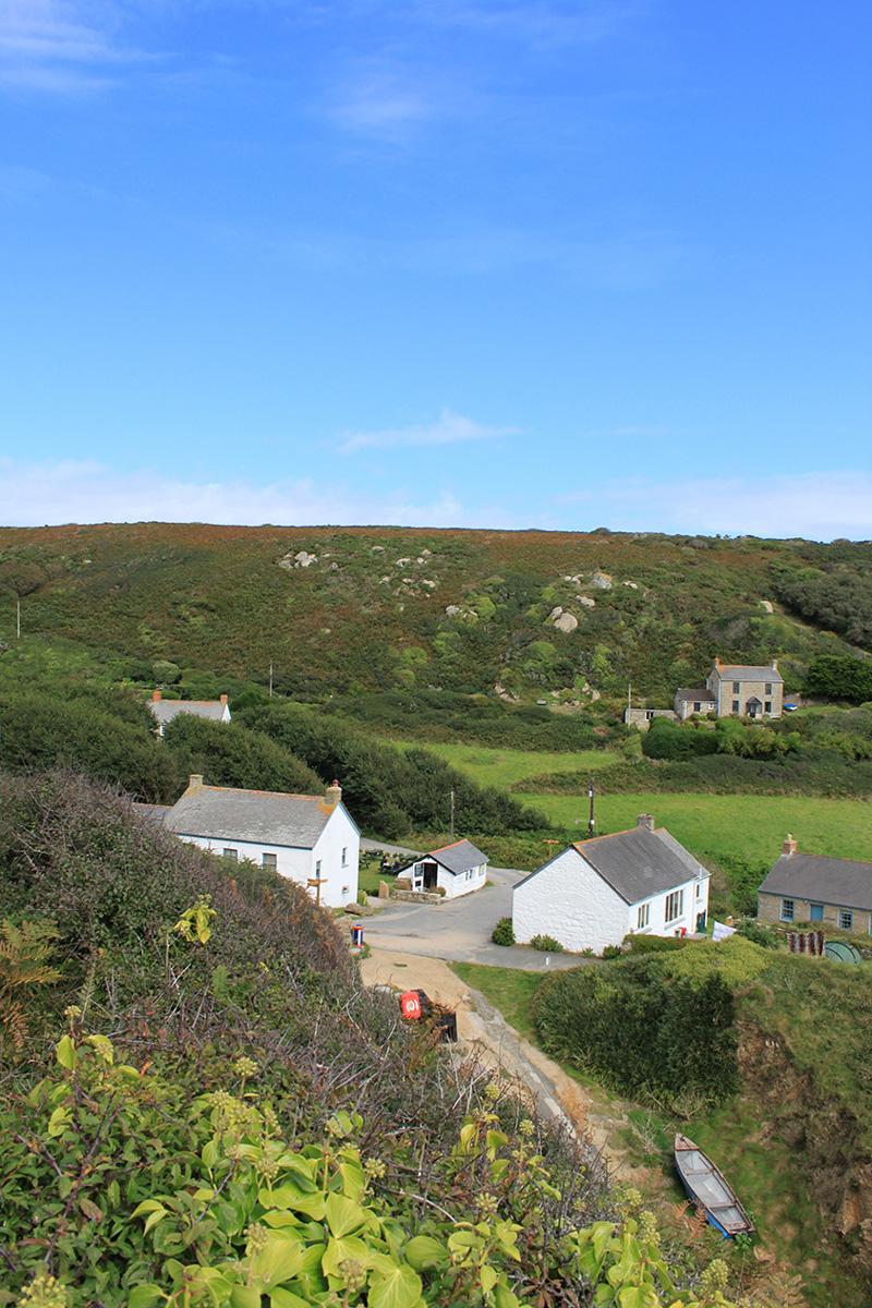 Porthgwarra Village, Cornwall