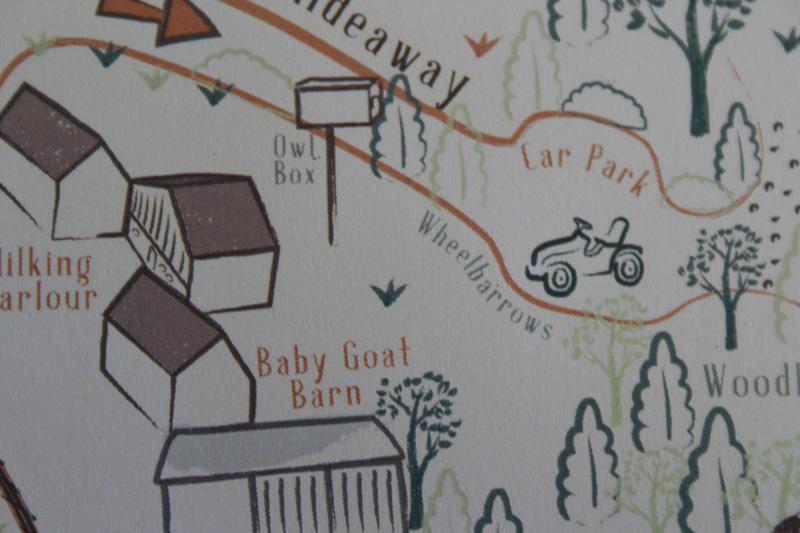 Dandelion Hideaway Map Illustrations