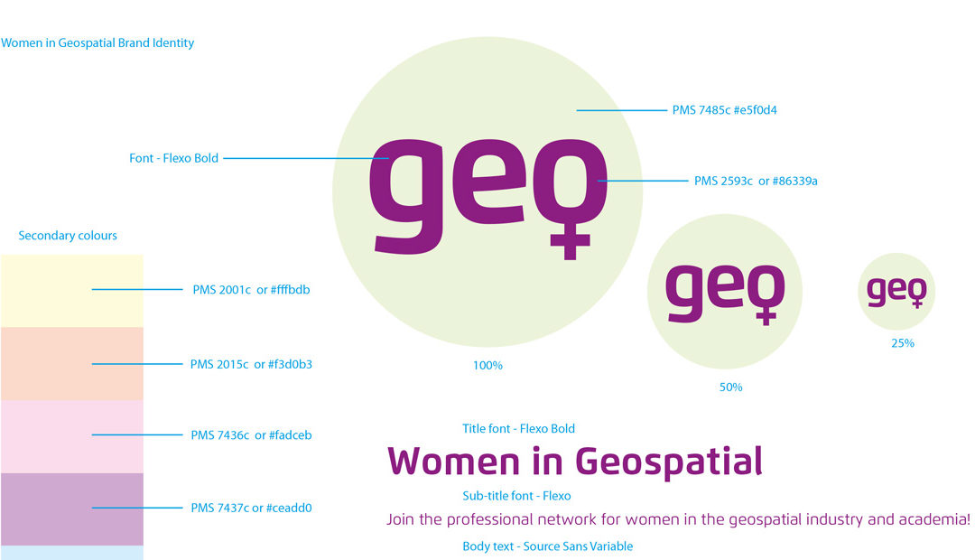 Women in Geospatial – New network with new brand identity