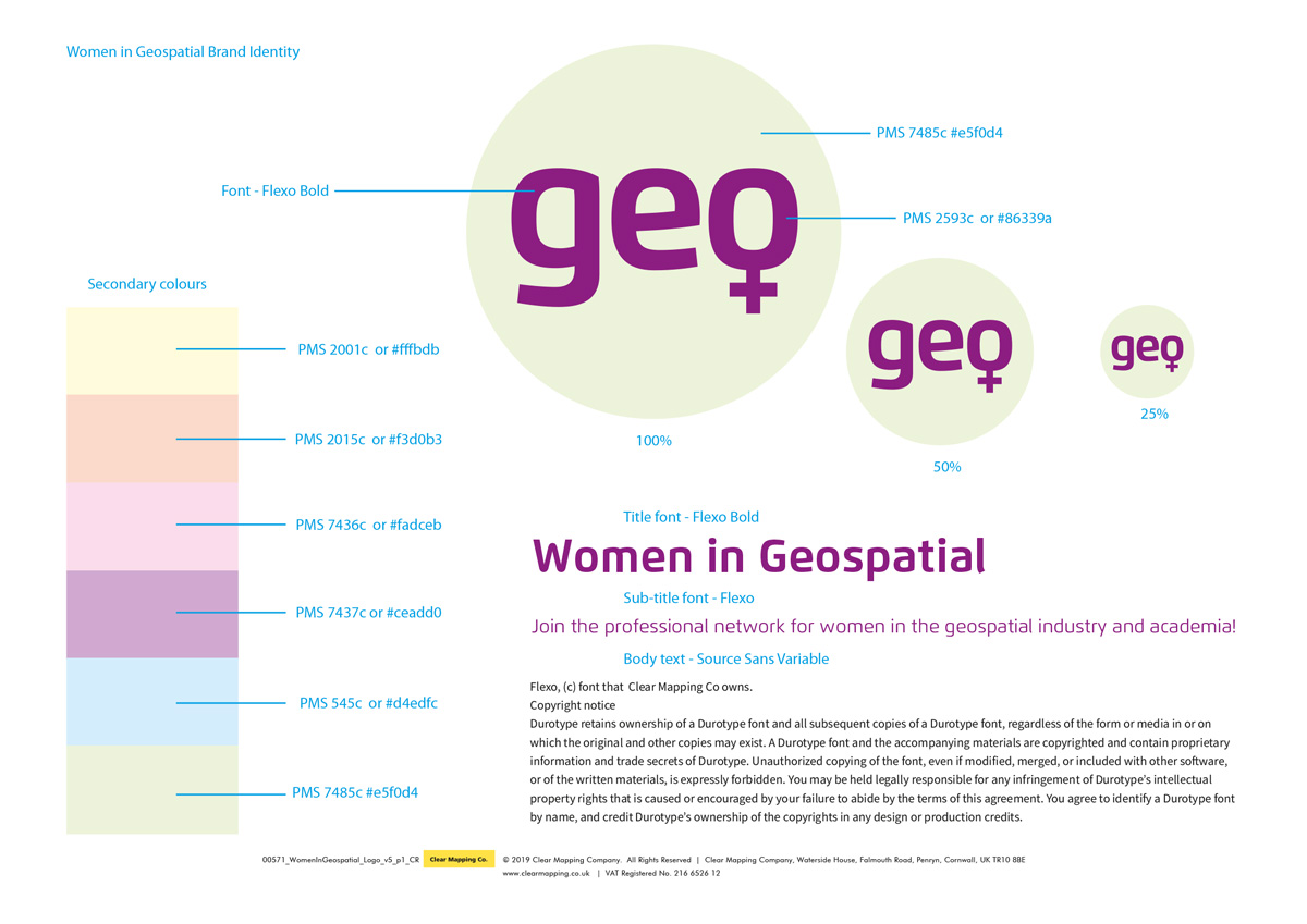Full Women in Geospatial Brand Identity