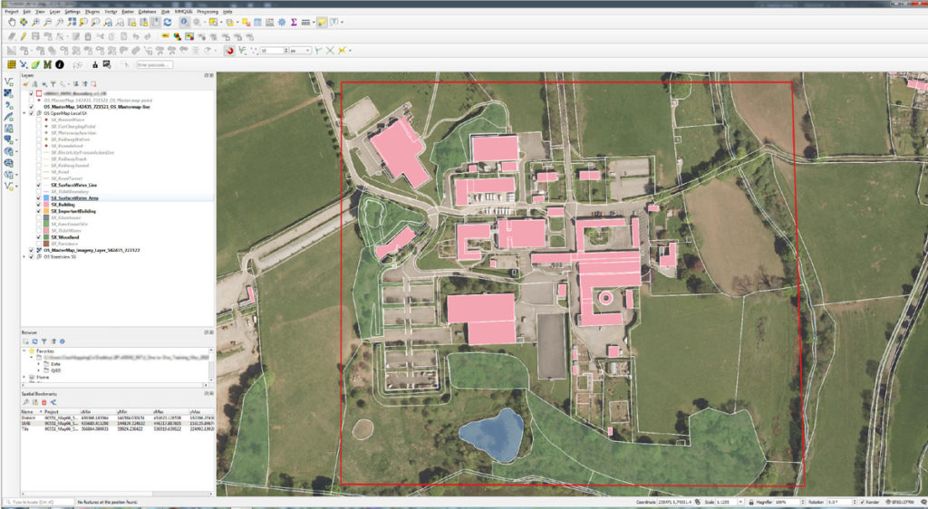 Agri-tech Cornwall Workshop – Up-skilling land-managers in Cornwall with QGIS workshop at Duchy College